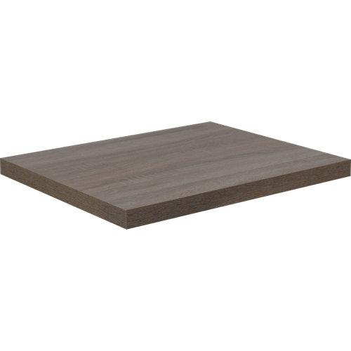 Encimera lavabo remix marrón de 90x3.8x49 cm