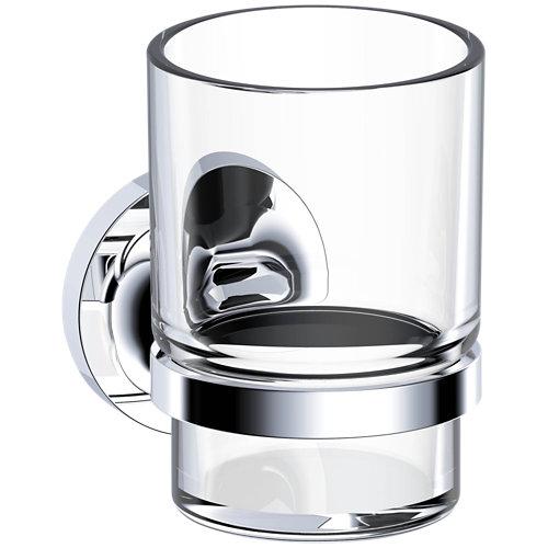 Vaso de baño elliot incoloro / transparente satinado