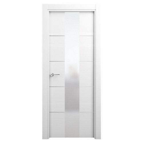 puerta paris blanco de apertura derecha de 72.5 cm