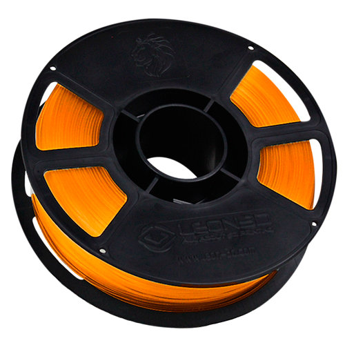 Bobina de filamento pla leon 3d ingeo