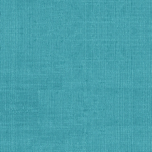 Tela en bobina azul mezcla lino y algodón ancho 140cm