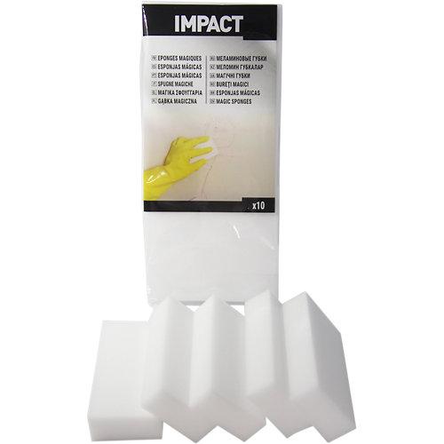 Lote 10 esponjas para limpiar mágicas impact