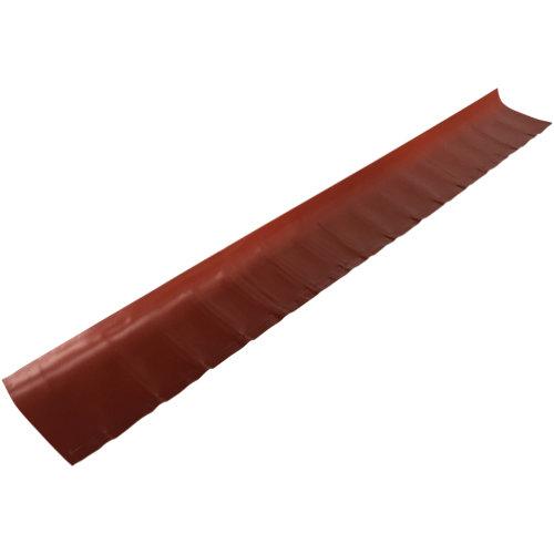 Remate pared polivalente rojo siena 2,16 m