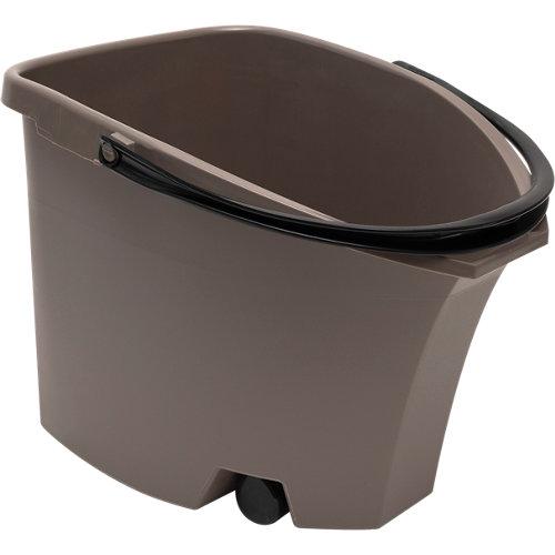 Cubo con ruedas impact gris