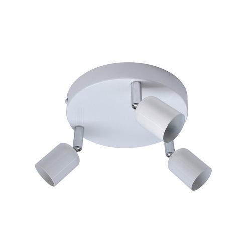 Plafon 3 luces basic s/t blanco