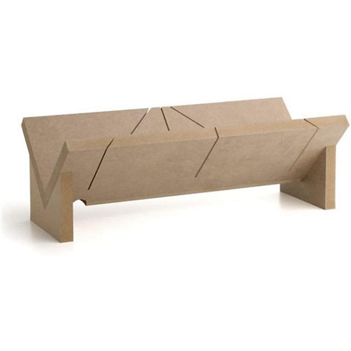 Cortaingletes molduras de madera 60,3lx28,2wx18,5h cm mb1
