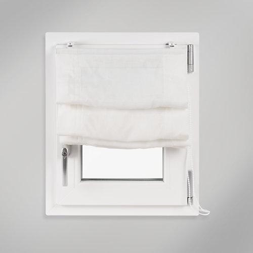 Estor plegable fórum blanco 42x150 cm