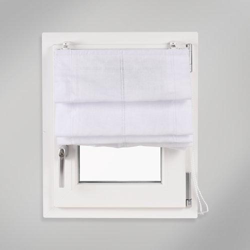 Estor plegable bolonia blanco 52x150 cm