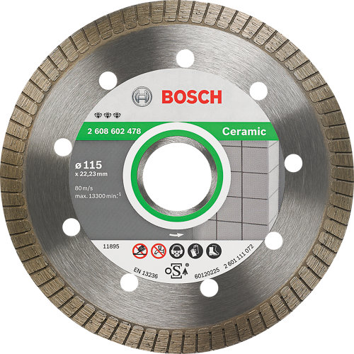 Disco diamante bosch 115 mm