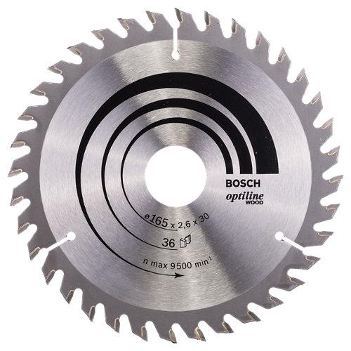 Hoja de sierra para madera bosch 2608640603 de 30 mm