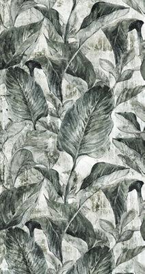 Mural decorativo autoadhesivo Bananera 132x250 cm