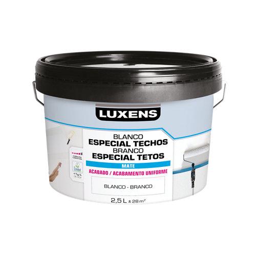 Pintura para techos luxens blanco 2,5l