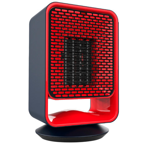 Calefactor ceramico siroco 1500w rojo