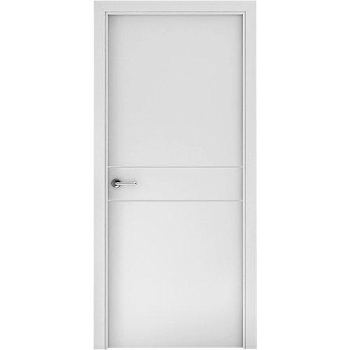 Puerta vilna blanco de apertura derecha de 62.5 cm