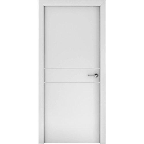 Puerta vilna blanco de apertura izquierda de 72,5 cm