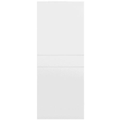 Puerta de interior corredera blanco de 62.5 cm