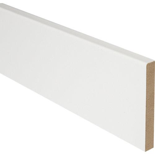 Kit de 5 jambas mdf lacada blanco 70 x 10 mm