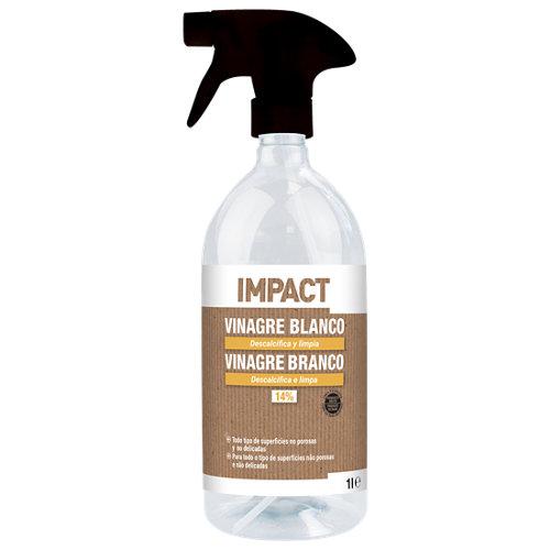 Vinagre blanco de limpieza impact 1l