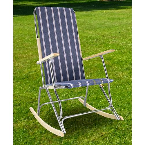 Silla / sillón de exterior de acero inoxidable colección playa lido gris
