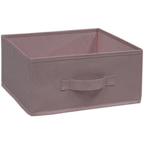 Cesta de tejido de 15x31x31 cm plegable