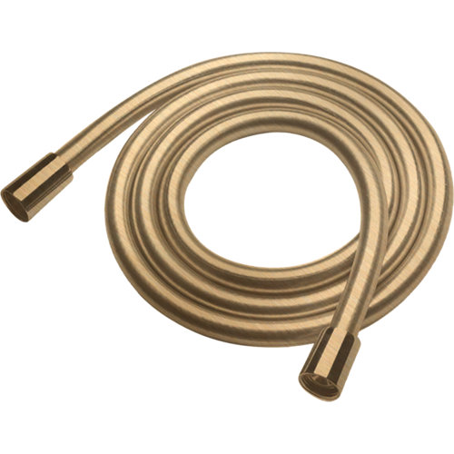 Flexo de ducha maier 175 cm oro cepillado mate