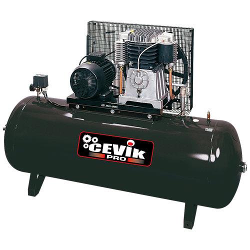 Compresor correas cevik pro ca-ab500/7,5t de 7.5 cv y 500l de depósito