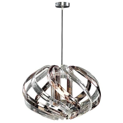 Lámpara de techo polaris transparente 1 luz