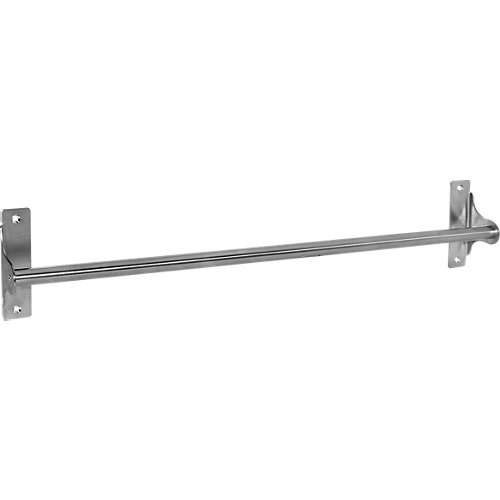 Toallero de barra loft sensea plata cepillado 45 cm