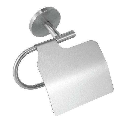 Portarollo wc suite gris / plata 13.4x16.8x6.3 cm