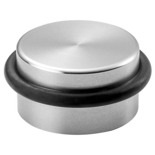 Tope puerta para fijar en suelo lucerna metal 3,6x1,8x3,6 cm