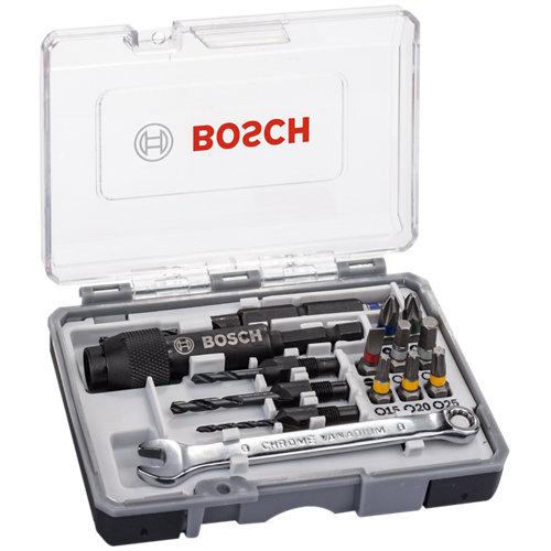 20 piezas de surtido de brocas bosch 2607002786