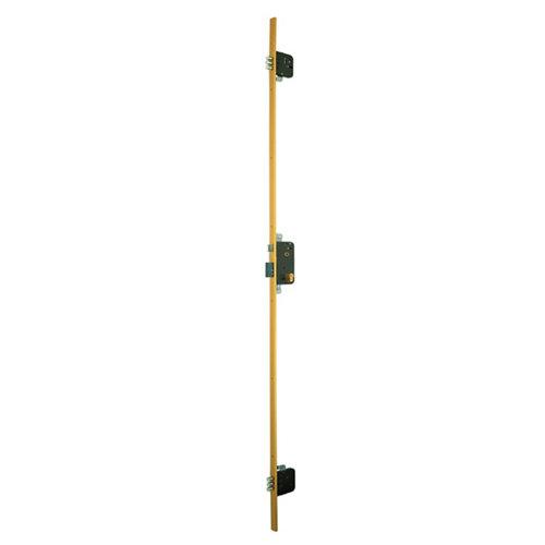 Cerradura de embutir multipunto de 3 puntos, mm entrada y 50 mm entre eje