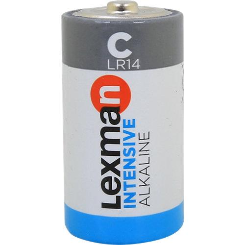 Pack de 2 pilas alcalinas lexman lr14 c 1,5v