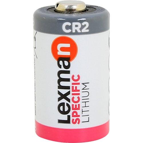 Pila alcalina de litio lexman cr2
