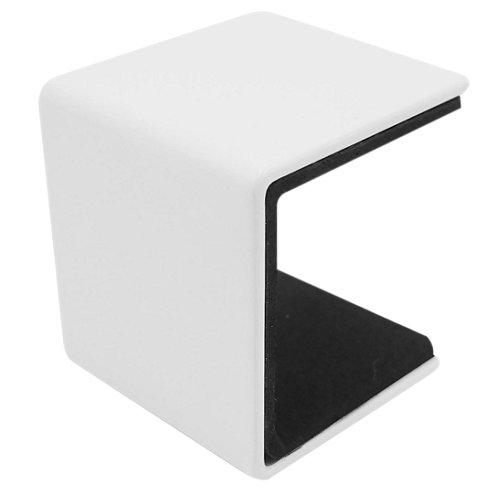 Soporte balda u kub blanco