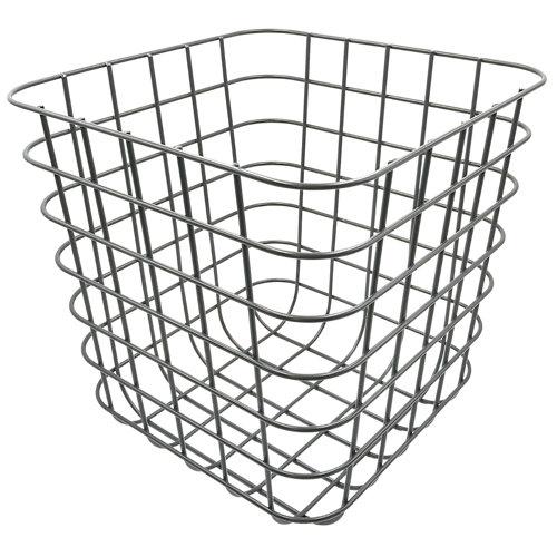 Cesta de metal de 31x31x31 cm