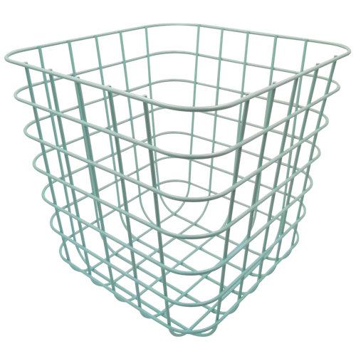 Cesta de metal de 31x13x31 cm
