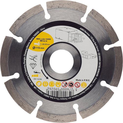 Disco de diamante para hormigón 22,2 mm