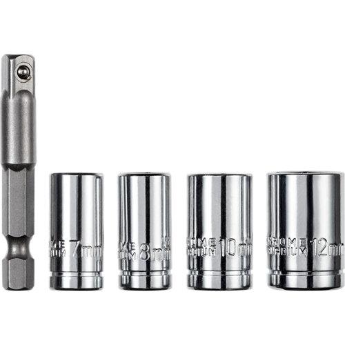 Set de 4 llaves de vaso dexter 50 mm