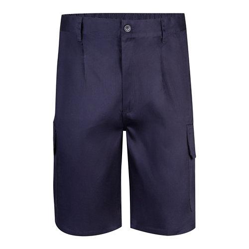 Pantalón de trabajo velilla multibolsillos azul marino t56