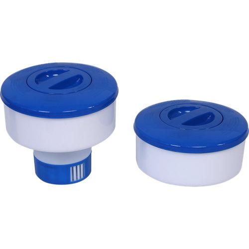 Dosificador flotante para pastillas de 200 gr de cloro