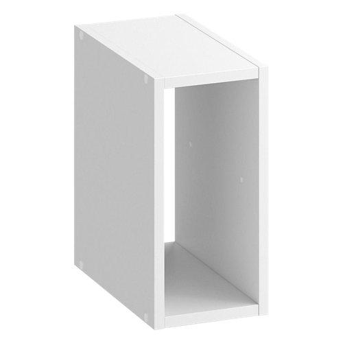 Estantería spaceo kub 1/2 cubo blanco 36x18x31.7cm