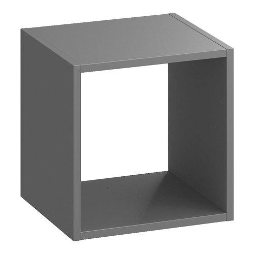 Estantería spaceo kub 1 cubo gris 36x36x31.7cm