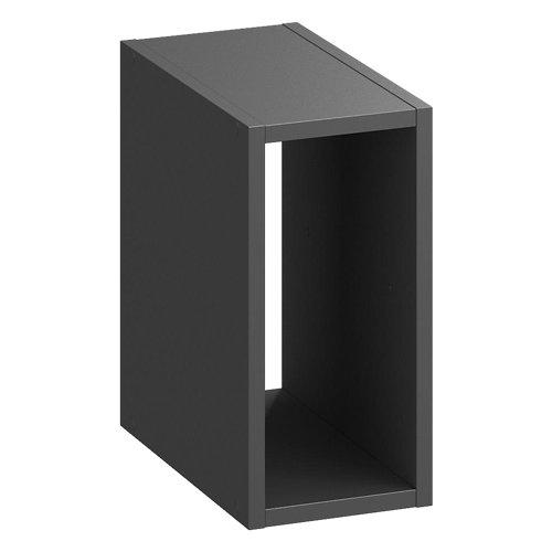 Estantería kub 1/2 gris spaceo 36x18 cm