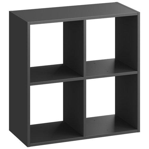Estantería spaceo kub 4 cubos gris 70.4x70x31.7cm
