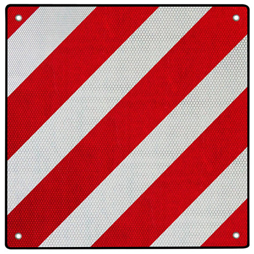 Placa v20 50x50 homologada sujetable