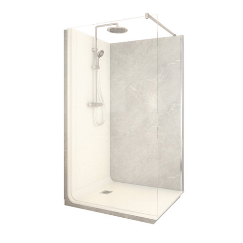 Cabina de ducha serenity lt aqua 80x120x218 cm