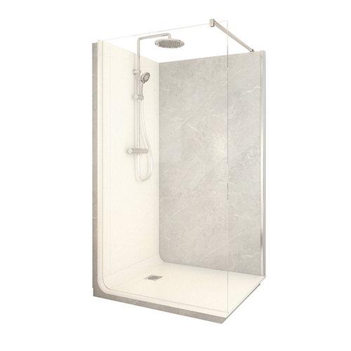 Cabina de ducha serenity lt aqua 90x120x218 cm