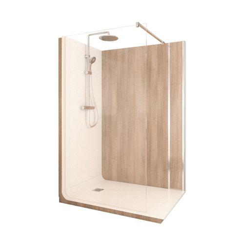 Cabina de ducha serenity lt aqua 90x140x218 cm