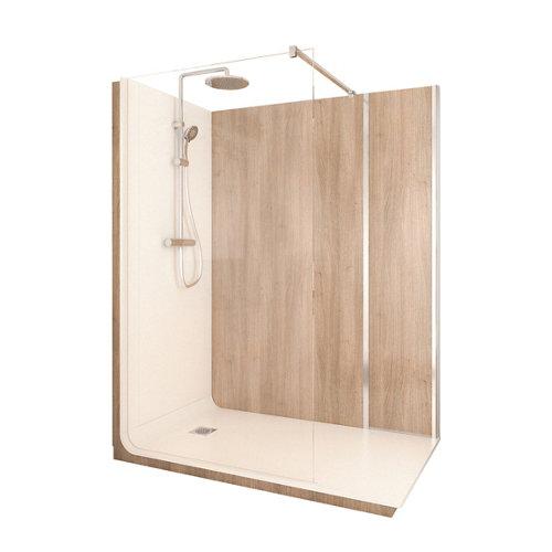 Cabina de ducha serenity lt aqua 90x160x218 cm